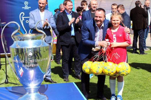 Херсонщина першою серед областей України зустріла Кубки Ліги чемпіонів
