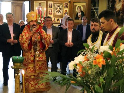 Молебен за Україну та Херсонщину відслужили у храмі Святої Трійці