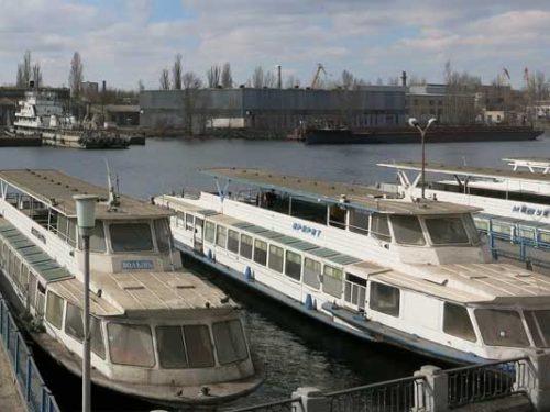 У Херсоні розпочалася річкова навігація