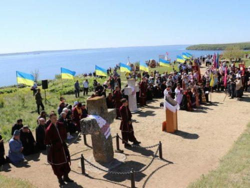 На Кам'янській січі  відкрили туристичний сезон в Херсонській області