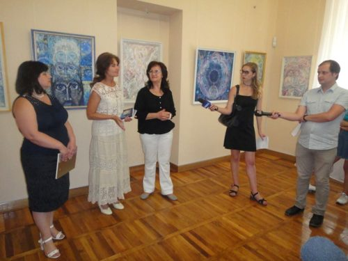 У Художньому музеї влаштували виставку картин видатного херсонця