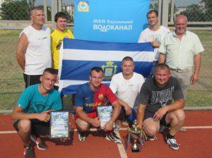 Херсонський водоканал провів внутрішню першість і з міні-футболу
