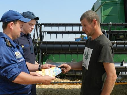 Чи дотримуються аграрії правил пожежної безпеки на Херсонщині?