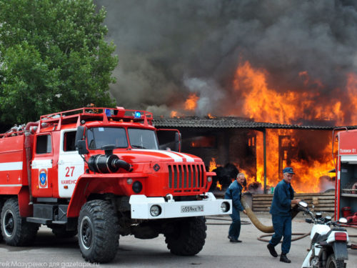 У Генічеському районі відкрили місцеву пожежну охорону