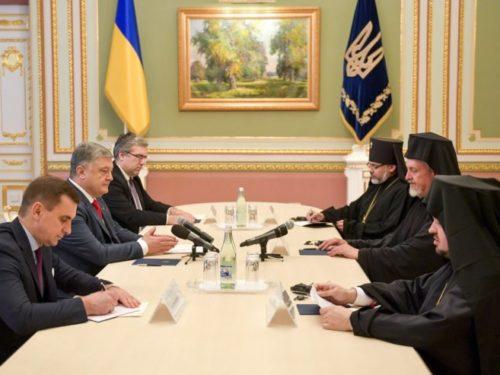 До річниці хрещення Русі Вселенський патріарх передав президенту України послання