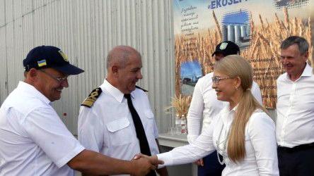 Тимошенко розповіла про свої плани розбудови Херсонщини