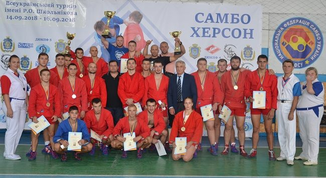 Всеукраїнський турнір по самбо в Херсоні!