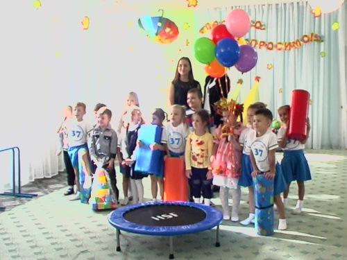 Херсонські школярі подарували дитсадку спортивний комплекс