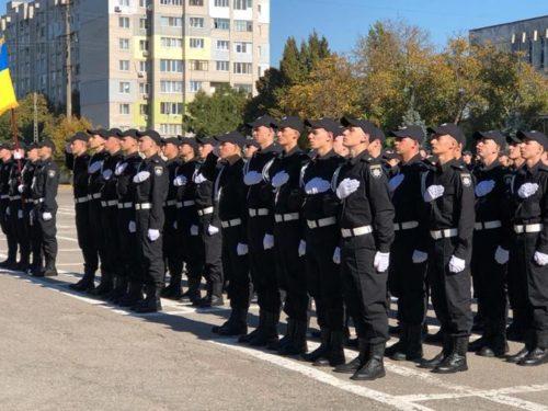 Служити і захищати: 50 курсантів склали Присягу працівика поліції