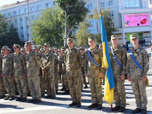 День Захисника України відзначили у Херсоні