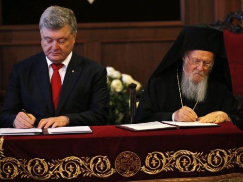 У Стамбулі підписали Угоду про створення незалежної української Церкви