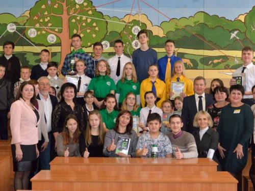 Як херсонські школярі до збереження грунтів долучались