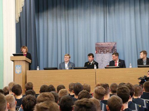 В Херсоні студентам розповіли про події в Криму і на Донбасі