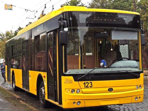 Херсон купуватиме нові тролейбуси за кредитні кошти ЄБРР