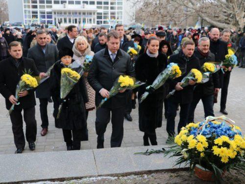 У патріотичній єдності херсонці святкували День Соборності України