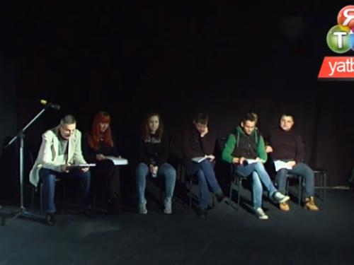 Актори Херсонського театру провели читку п'єс драматургів-пілітків