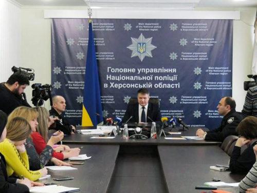 Поліцейські розповіли журналістам як працюватимуть на виборах-2019