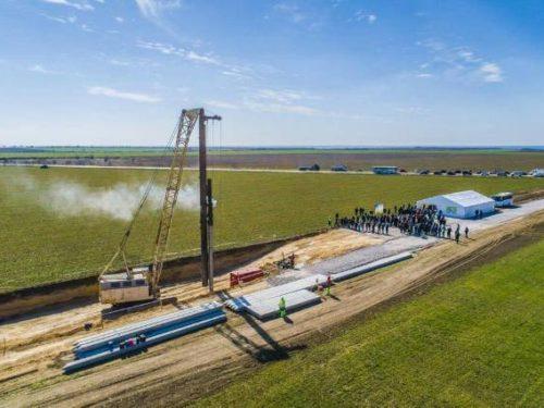 На Херсонщині урочисто відкрили будівництво Дніпро-Бузької вітрової електростанції