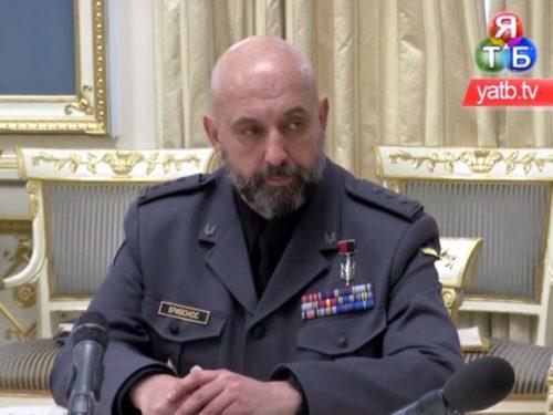 Новий заступник голови РНБО – бойовий полковник Сергій Кривонос