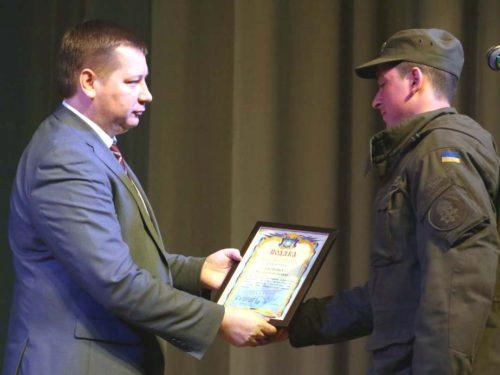 В Херсоні пройшов урочистий концерт з нагоди 5-ої річниці Національної Гвардії України.