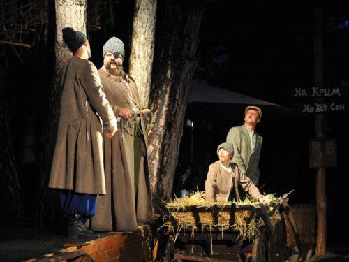 """""""Майська ніч"""" Гоголя в Олешківсьому лісі – вистава з містичним присмаком"""