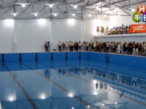 Технічний запуск басейну олімпійського стандарту відбувся у Херсоні