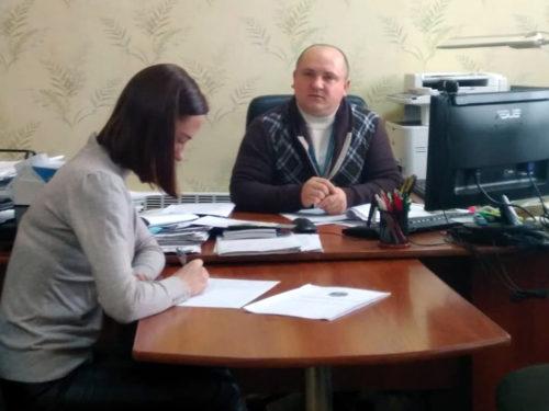 В міграційній службі Херсонщини тестували адміністраторів ЦНАП
