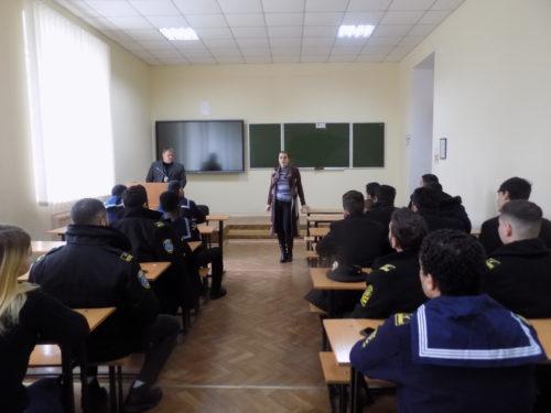Херсонська міграційна служба провела зустріч із студентами іноземцями морської академії