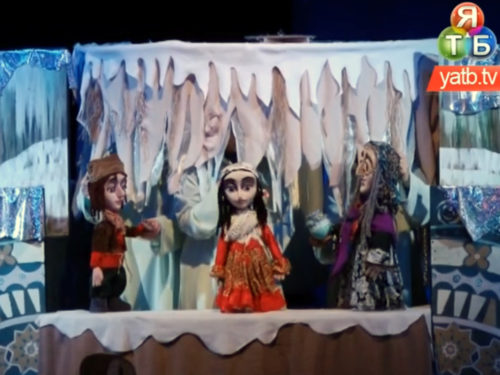 """Виставу """"Неймовірні пригоди дівчинки Ради"""" презентували у Херсонському ляльковому театрі"""