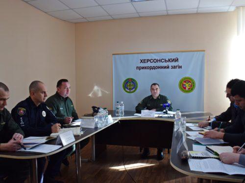 Міграційна служба області взяли участь в координаційній нараді