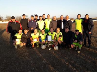 У Любимівці Іванівського району підбили підсумки аграрного року та провели футбольний турнір