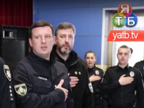 Професійне свято відзначили патрульні поліцейські Херсонщини