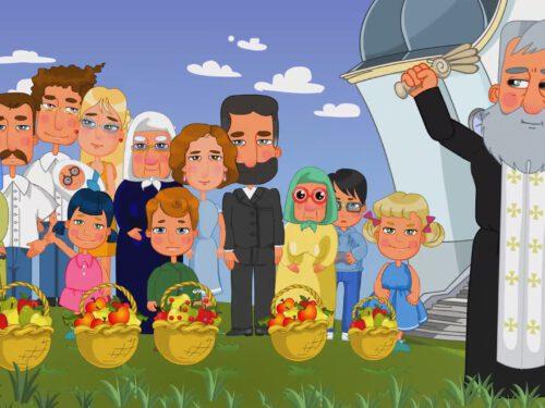 Прем'єра мультфільму про свято Преображення