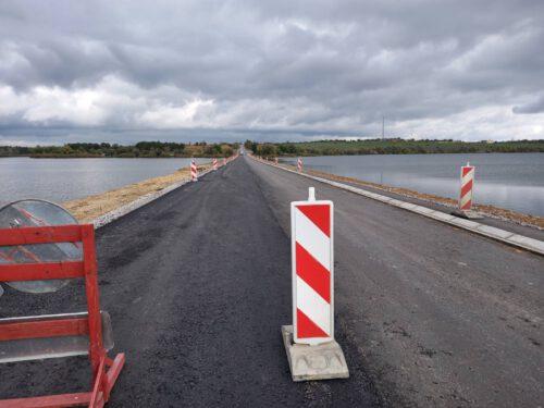 На Херсонщині завершили будівельні роботи на мостовому переході через Милівську балку