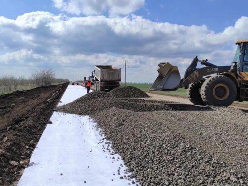 До заповідника Асканія Нова будують нову дорогу
