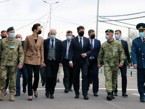 Голова Верховної Ради України та Спікер Сеймасу Литви відвідали КПВВ на Херсонщині