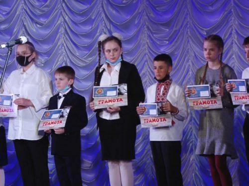 """Нагороджені переможці  ХІ міського конкурсу """"Херсонщина пам'ятає"""""""