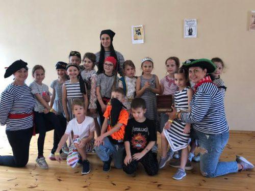 """Квестом """"Веселі пірати"""" завершився тиждень літнього клубу гурткової роботи в початковій школі ШГП"""