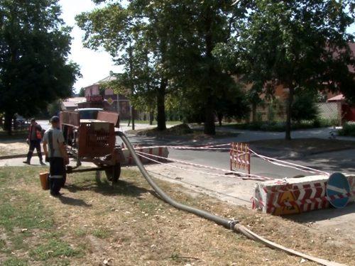 Відновлення аварійних колекторів у Херсоні потребує спеціалізованої техніки та бюджетних коштів